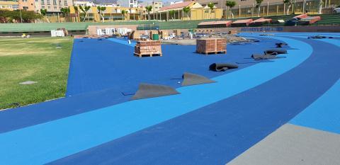 Estadio de Atletismo de Vecindario, Santa Lucía. Gran Canaria
