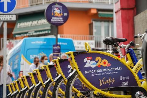 Sítycleta se suma a la campaña de promoción de los mercados municipales de Las Palmas de Gran Canaria