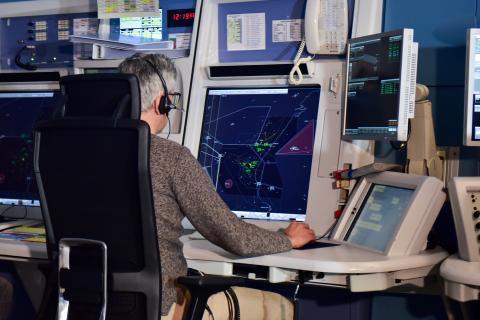 Controlador aéreo Enaire