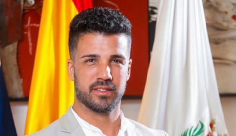 David Suárez, concejal CC-UxGC del Ayuntamiento de Las Palmas de Gran Canaria