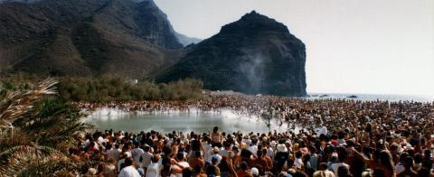 Fiesta de El Charco, La Aldea. Gran Canaria