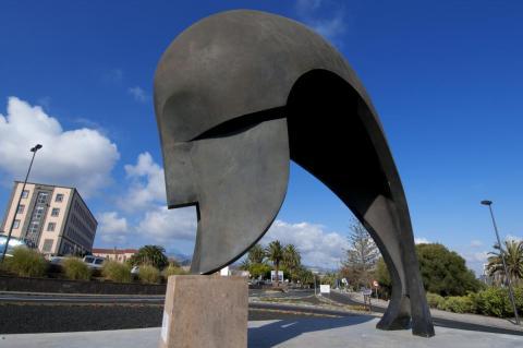 Escultura El Pensador, ULPGC