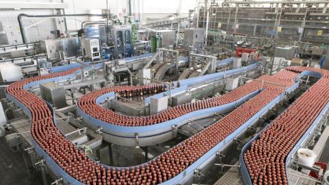 Fábrica de la Compañía Cervecera de Canarias