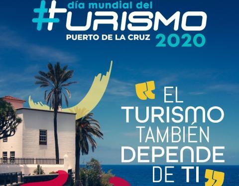 Día Mundial del Turismo en Puerto de la Cruz. Tenerife