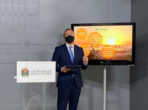 Augusto Hidalgo. Las Palmas de Gran Canaria