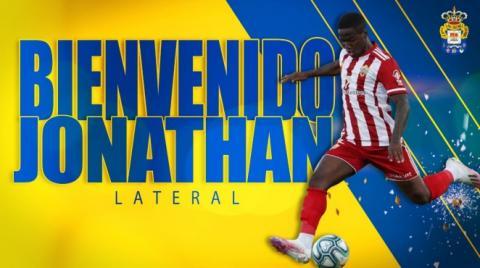 Jonathan Silva, jugador UD Las Palmas