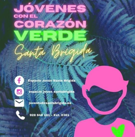 """Proyecto """"Jóvenes con el corazón verde"""" en Santa Brígida. Gran Canaria"""