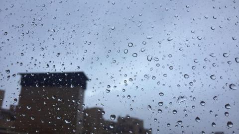 Lluvias débiles