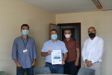 Sanidad inicia la obra del búnker de Radioterapia del Hospital Molina Orosa. Lanzarote