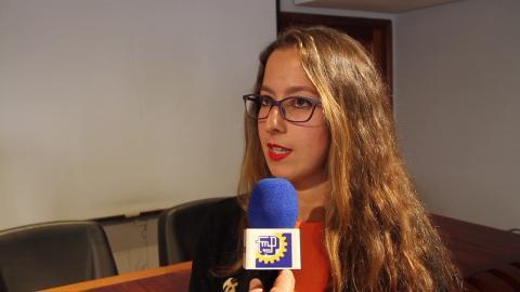 Olaia Morán, consejera de Educación y Juventud del Cabildo de Gran Canaria
