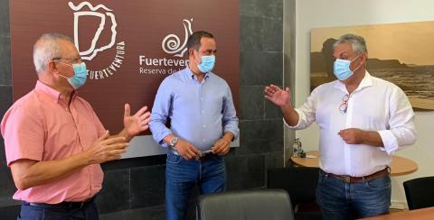 Reunión Coordinación del PEIN de Puerto del Rosario. Fuerteventura