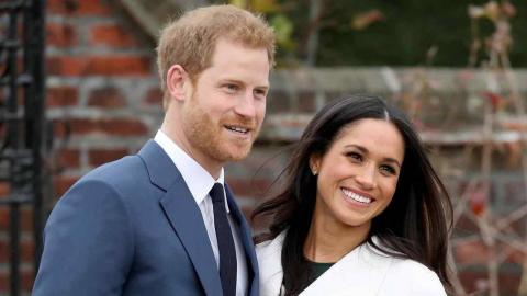 El príncipe Enrique y Meghan Markle
