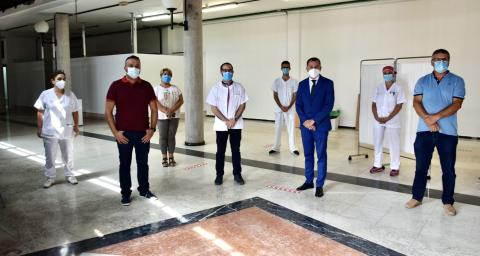Punto de detección precoz de coronavirus en Gáldar. Gran Canaria