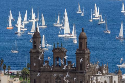 Regata ARC. Las Palmas de Gran Canaria