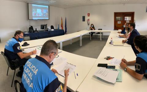 Reunión de coordinación de la vuelta al colegio en Las Palmas de Gran Canaria