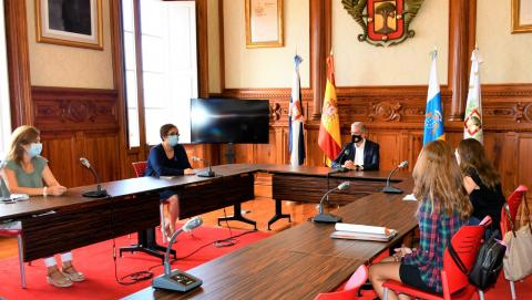 Reunión de trabajo con la Asociación de Ostomizados de Tenerife (AOTEN) La Orotava