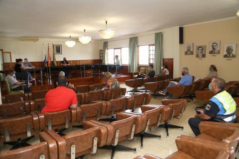 Pleno del Ayuntamiento de Valleseco. Gran Canaria