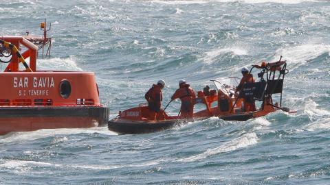 Salvamento marítimo en rescate