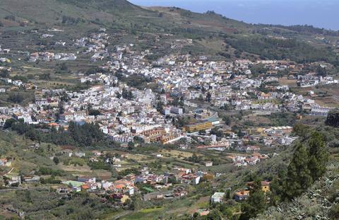 Vistas de Teror. Gran Canaria
