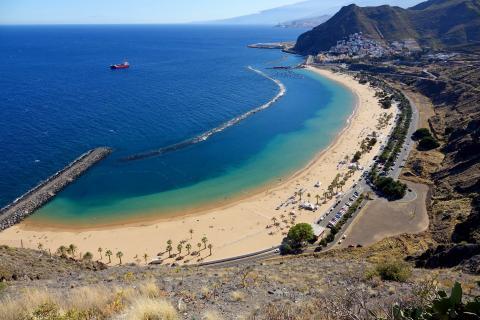 Playa de Las Teresitas. Tenerife
