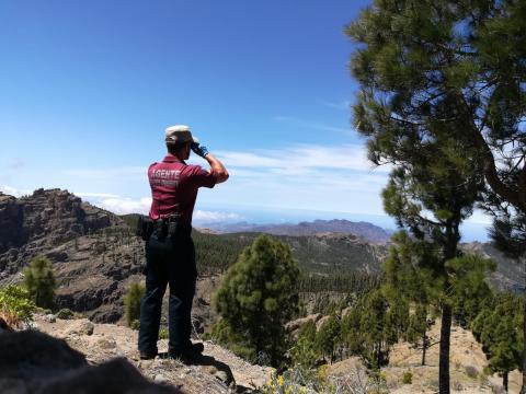 Agente de Medio Ambiente del Cabildo de Gran Canaria