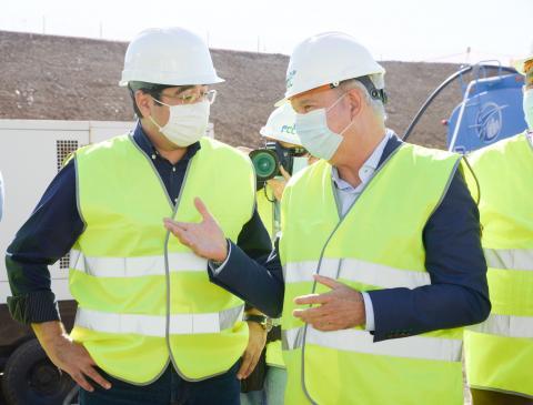 Inicio de la excavación del túnel de Erjos dentro del proyecto Cierre del Anillo Insular de Tenerife