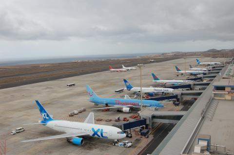 Aeropuerto Sur. Tenerife