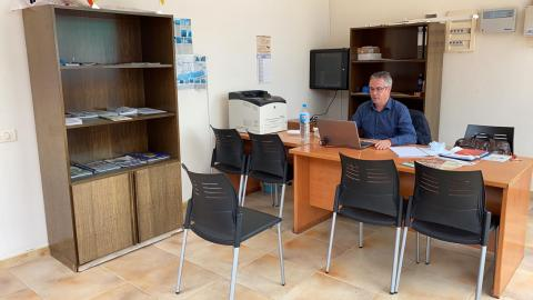 Agustín Martín, concejal de Desarrollo Socioeconómico del Ayuntamiento de Gáldar