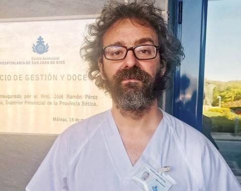 Doctor Álvaro Doña, psiquiatra Centro Asistencial San Juan de Dios Málaga