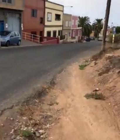 Carretera de Almatriche. Las Palmas de Gran Canaria