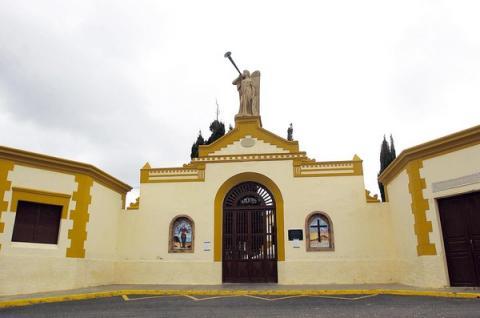 Cementerio de Gáldar. Gran Canaria