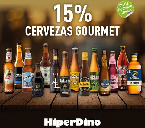 Cervezas gourmet de HiperDino