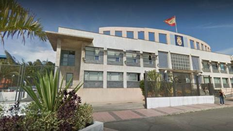Comisaría de la Policía Nacional en Telde. Gran Canaria