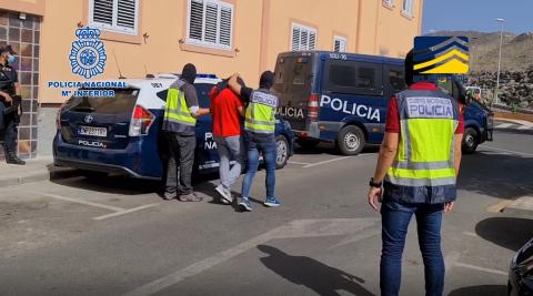Detención de yihadistas en Mogán