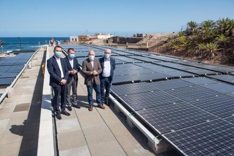El Cabildo de Gran Canaria licita la ampliación de la depuradora Guía-Gáldar en Bocabarranco. Gran Canaria