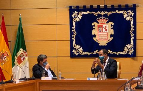 Blas Acosta y José Luis Escrivá