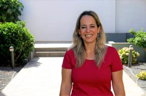 La consejera de Sanidad del Cabildo de La Palma, Susana Machín