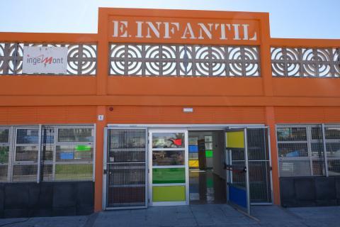 Escuela infantil Las Remudas, en Telde. Gran Canaria