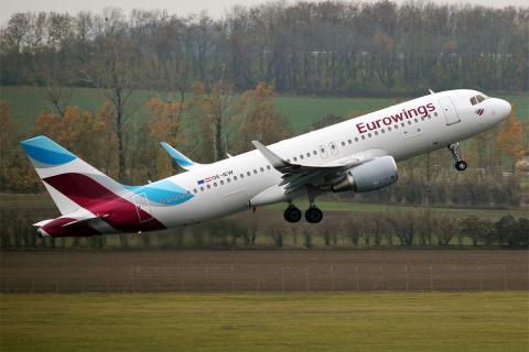 Eurowings vuela de nuevo a Canarias