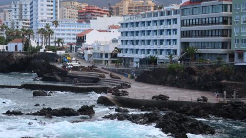 Playa de San Telmo, Puerto de la Cruz. Tenerife