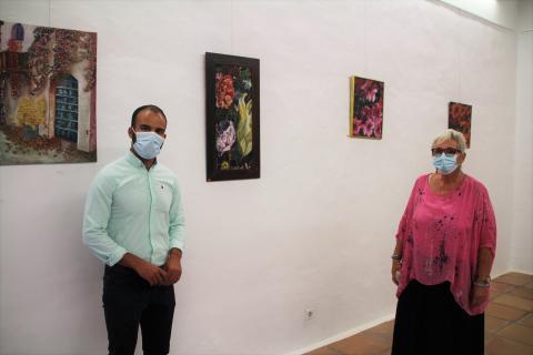 Exposición 'Los colores de Lanzarote' en la Casa de la Cultura de Yaiza. Lanzarote