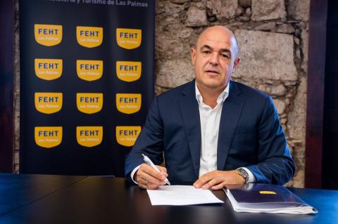 José María Mañaricúa, presidente Federación de Empresarios de Hostelería y Turismo (FEHT) de Las Palmas