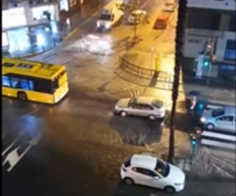 Lluvias en Las Palmas de Gran Canaria
