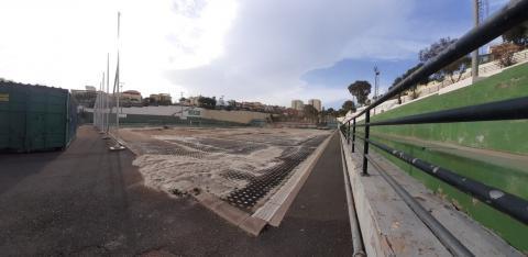 Campo de fútbol Vicente López Socas. Las Palmas de Gran Canaria