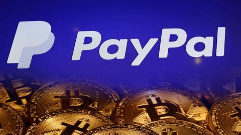 PayPal y criptomonedas