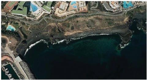 Playa de San Salvador, San Miguel de Abona. Tenerife