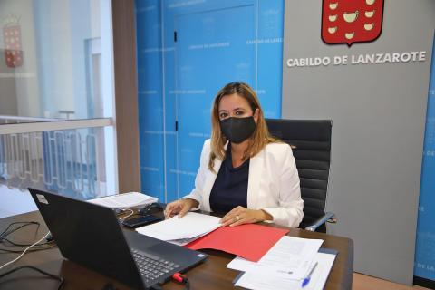 María Dolores Corujo, presidenta del Cabildo de Lanzarote