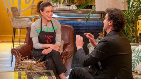 Raquel Sánchez Silva y Pepe Rodríguez en MasterChef Celebrity