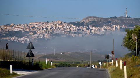 Salemi en Sicilia. Italia