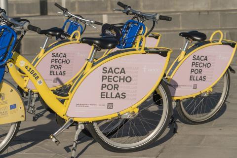 Sítycleta se suma a la campaña por el Día Mundial Contra el Cáncer de Mama